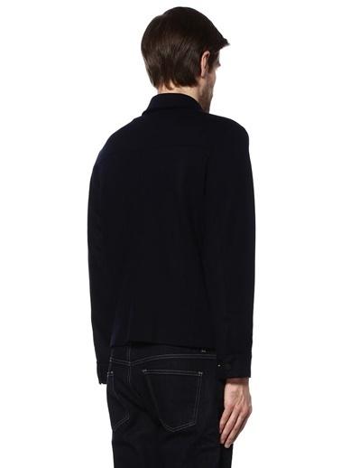 İngiliz Yaka Çıtçıtlı Yün Gömlek -Beymen Collection